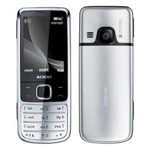 Nokia 6700 Classic Màu Bạc