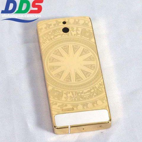 Vỏ Nokia 515 Mạ Vàng