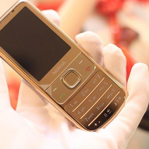 Nokia 6700 Gold Vỏ Mạ Lại