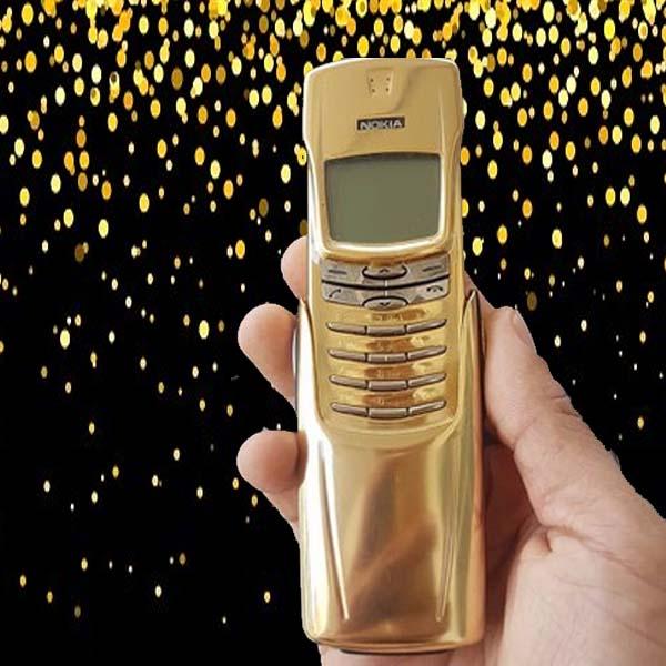 Nokia 8910/8910i mạ vàng 24k