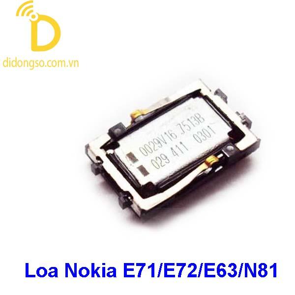 Loa Nokia E71/E72/E63/N81