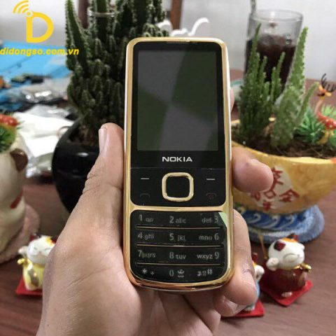 Nokia 6700 Black Gold Rose