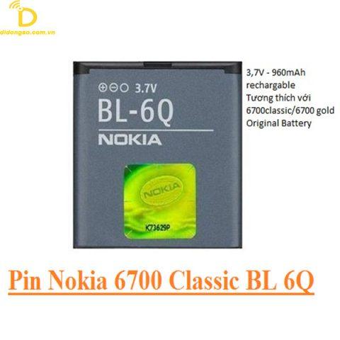 Pin Nokia 6700 BL-6Q