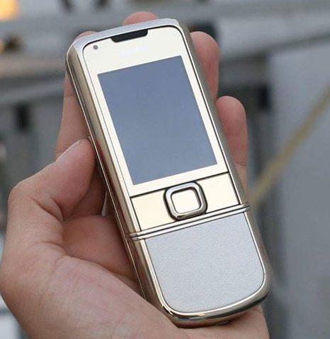 Nokia 8800 Gold Arte Thay Vỏ Mới