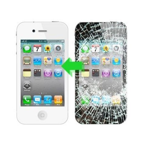 Thay Mặt Kính iPhone 4, 4S