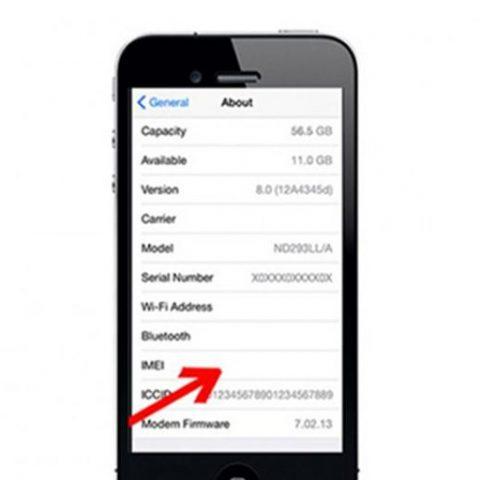 Sửa iPhone 4,4S bị mất imei