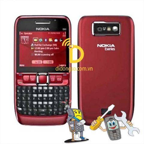 Sửa điện thoại Nokia E63