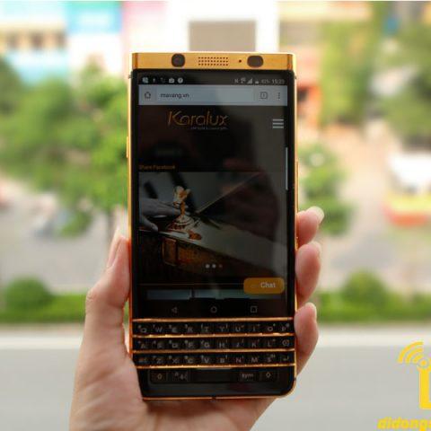Mạ vàng điện thoại Blackberry