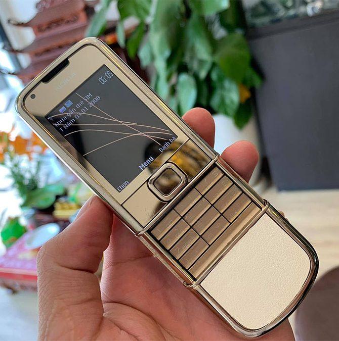 Nokia 8800E Gold Arte Da Trắng Nguyên Bản