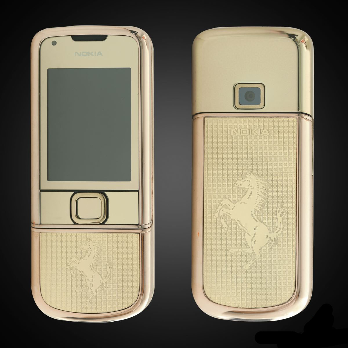 Nokia 8800E Rose Gold Khảm Ngựa Ferrari