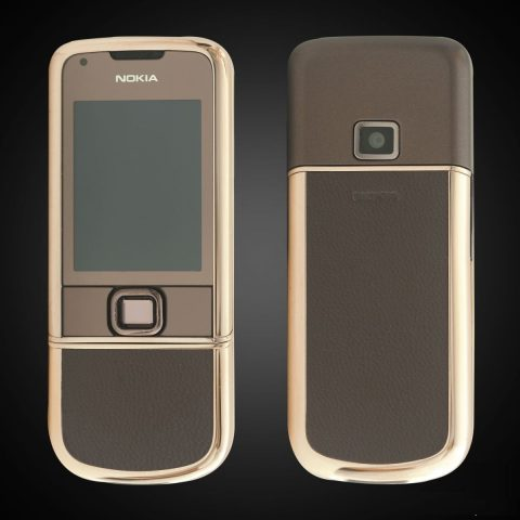 Nokia 8800E Rose Gold (Da nâu)