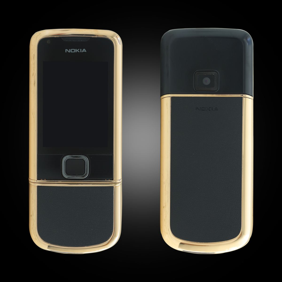Nokia 8800E Rose Gold Vàng Hồng Da Đen