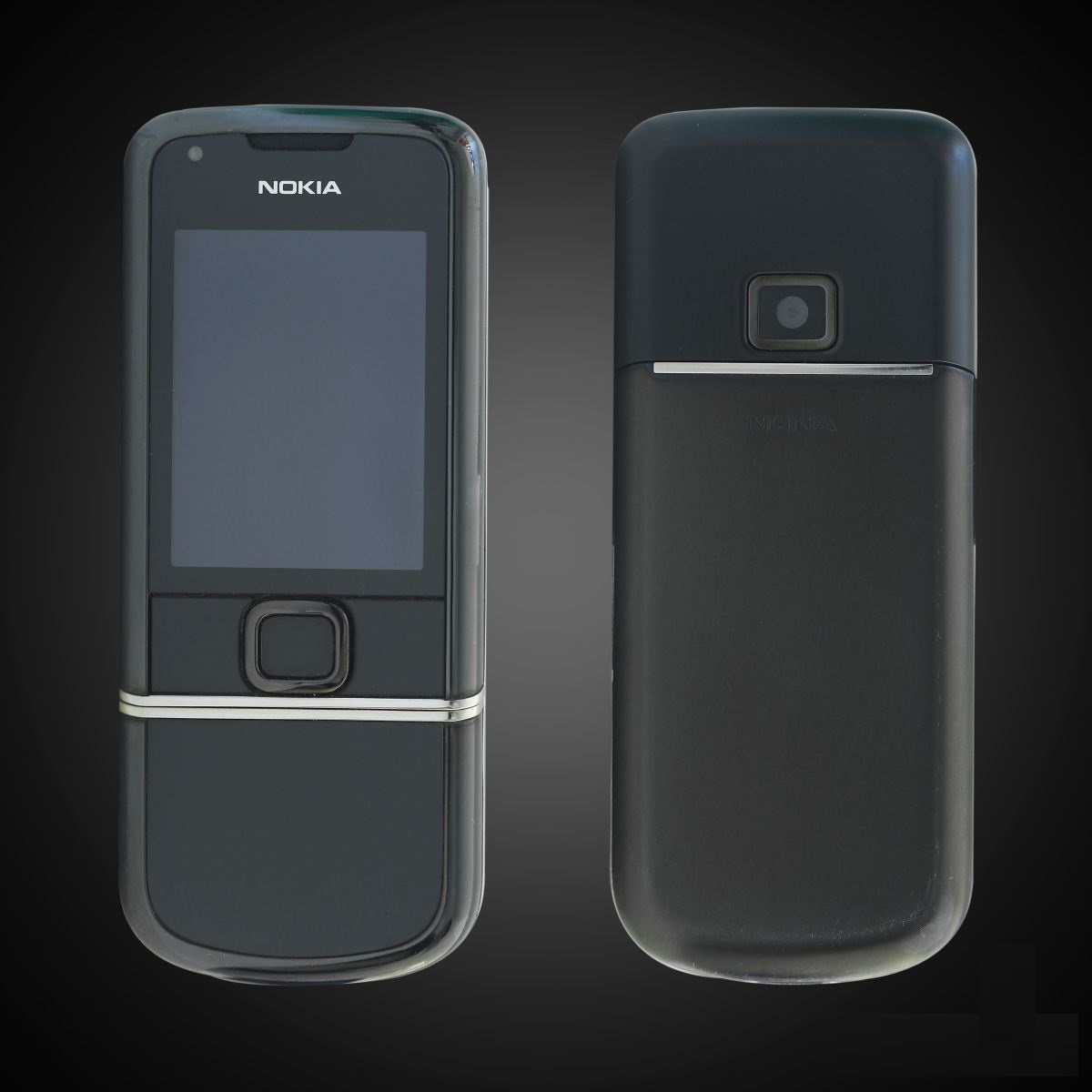 Nokia 8800E Sapphire Arte Black Like New Fullbox