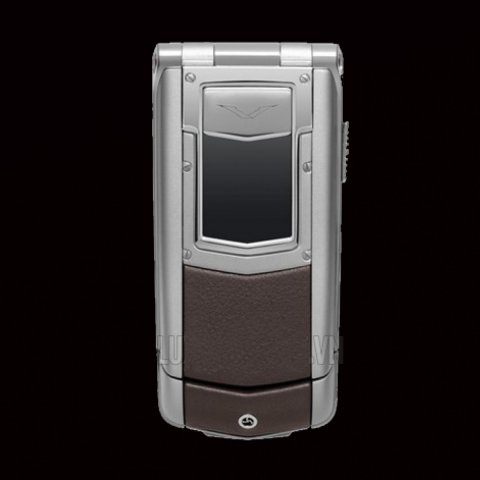 Vertu Constellation Ayxta Brown Leather