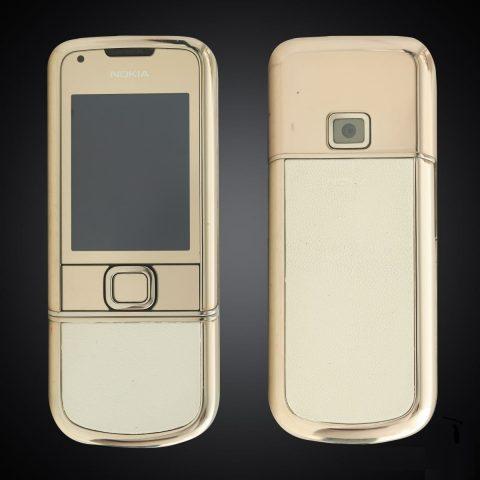 Nokia 8800E Gold Arte da trắng 4Gb Nguyên Bản đẹp xuất sắc