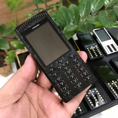 Điện thoại Mobiado Pro trống đồng black